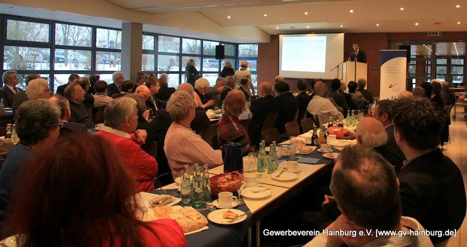 Neujahrsempfang des Gewerbevein Hainburg e.V. | Foto: Tobias Kemmerer