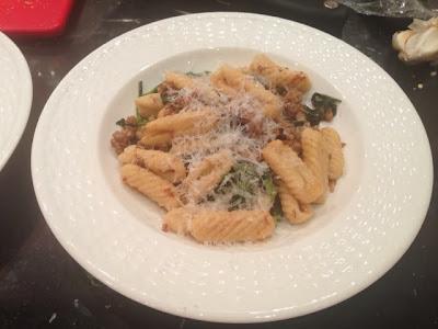 Sybil's Spoon: Ricotta Cavatelli with Sausage and Broccoli ...