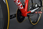 Ferrari Red Colnago C59 Disc Shimano Dura Ace 9070 Di2 Complete Bike at twohubs.com
