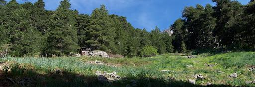 Arrivée au site des bergeries de Campu a u Prete