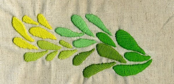 DIY crewel embroidery kit vintage