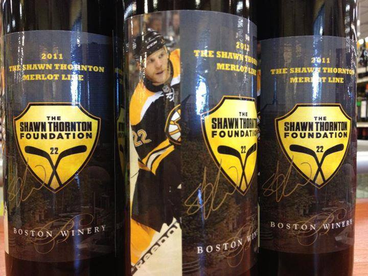 Shawn Thornton merlot wine