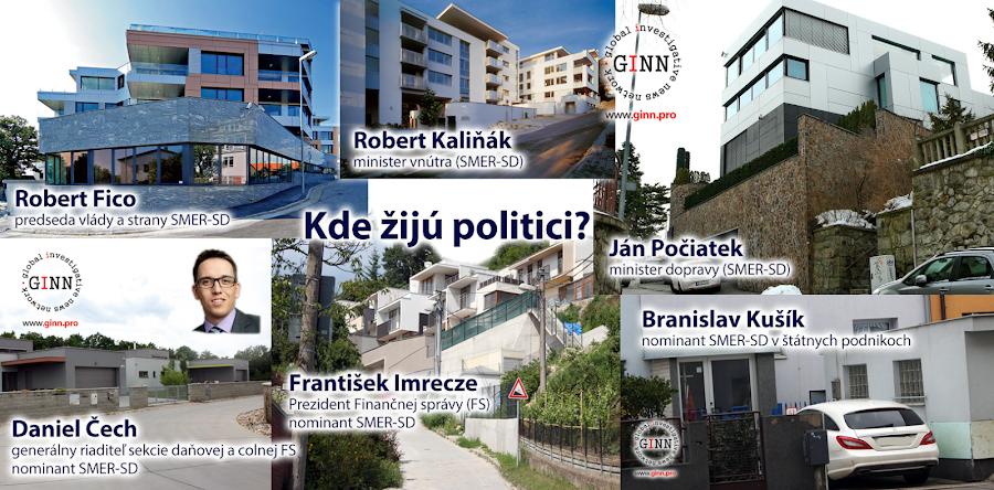 Kde žijú politici, Gorila, Megalodon, Slovensko, Robert Fico, Robert Kaliňák, Ján Počiatek, Daniel Čech, František Uhrinec, Braislav Kušík