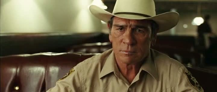 Screen Shot Of Hollywood Movie No Country for Old Men (2007) In Hindi English Full Movie Free Download And Watch Online at Alldownloads4u.Com