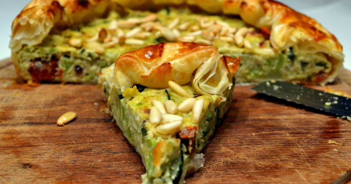La cucina di bucci torta salata con cavolfiore romanesco for La zucchina