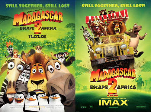 Madagascar: Escape to Africa (2008)