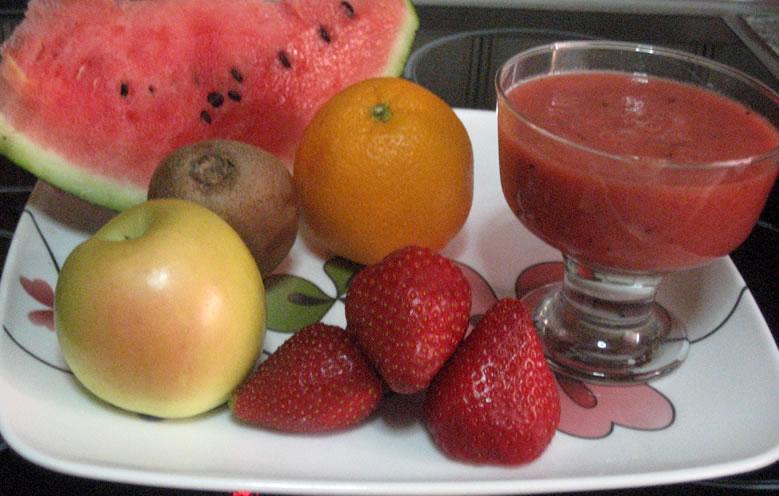 Batido 5 frutas