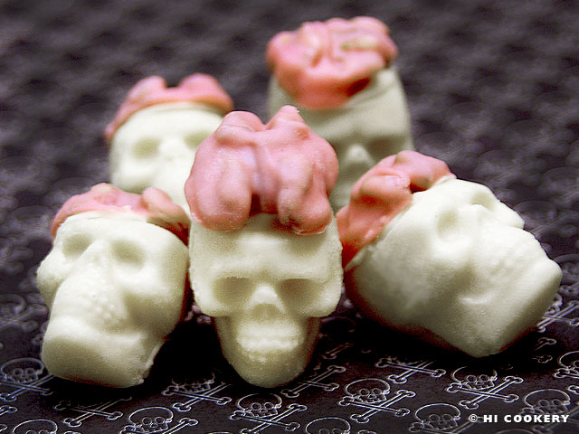 Walnut Brain Candy Skulls