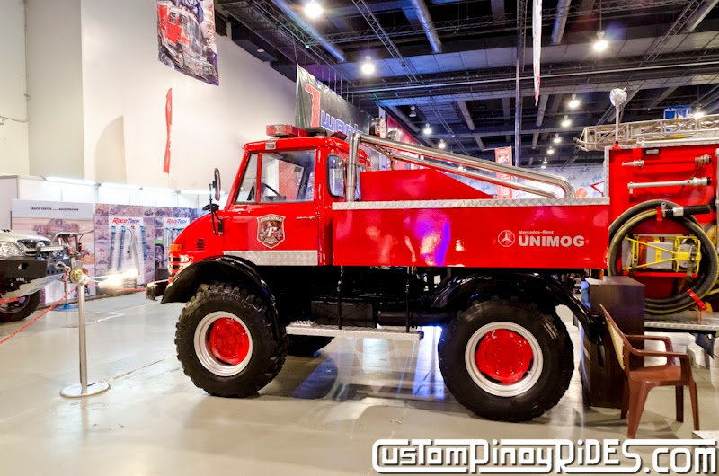 Mercedes-Benz UNIMOG The Ultimate 4x4 Custom Pinoy Rides Car Photography Manila Philippines pic2