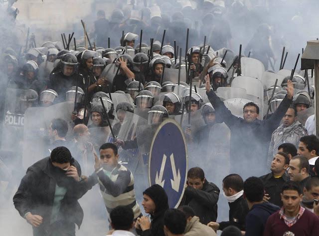 Egyptian Revolution شريف الحكيم Cairo1.28.11