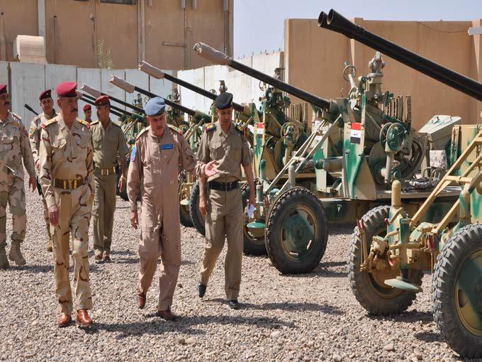 اعاد  تاهيل  الاسلحة القديمة في الجيش العراقي Chinese+37mm