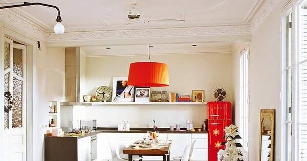 Retr and design idee d 39 arredo con pavimenti vintage for Interni moderni case spagnole