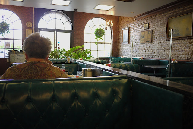 inside a restaurant in Jackson, Mississippi