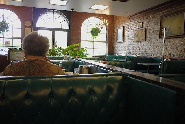 inside a restaurant in Jackson, Mississippi