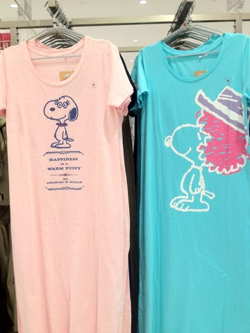Uniqlo Snoopy Maxi dress