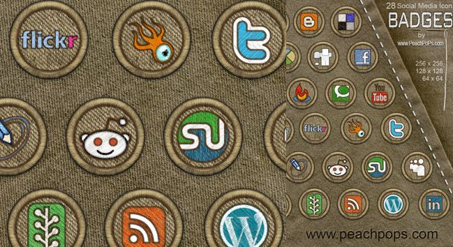 Free Download Icon Social Sets