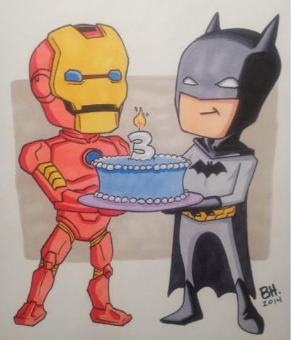 Brent Hibbard Art Blog Birthday Card