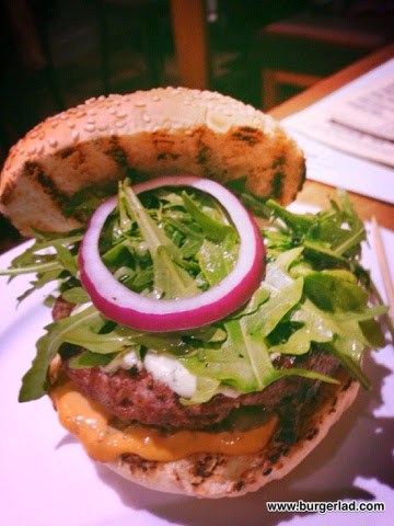 Gourmet Burger Kitchen Persian Lamb Burger