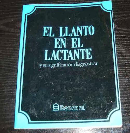 el llanto en el lactante -1981- con ilustraciones