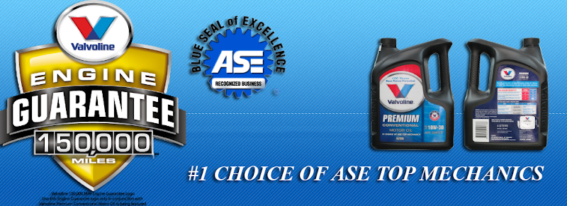 There are the No.1 Choice of ASE Top Mechanics.