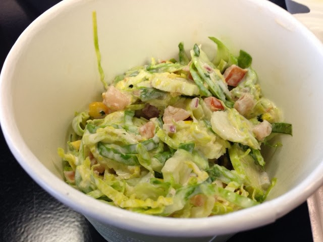 Brussels-Sprouts-cole Slaw, Dish Society, shaved-Brussel-Sprouts-slaw