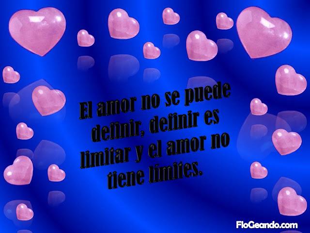 El amor no tiene limites