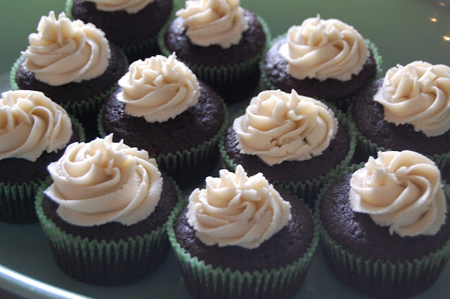 bailey's buttercream, guinness chocolate cake