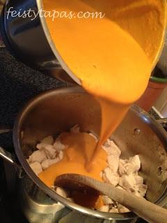 Pollo a la mantequilla, butter chicken, murgh makhani