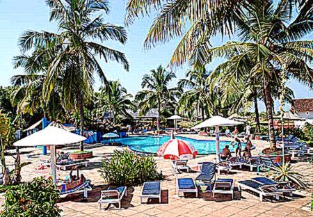 Hotels in Goa Hotel Paradise Village Beach Resort Goa Three Star