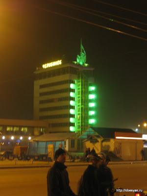 Здание гостиницы вокзала