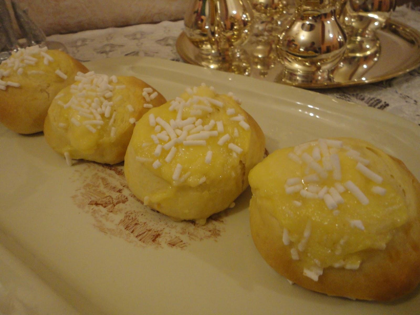 Ricetta delle veneziane alla crema
