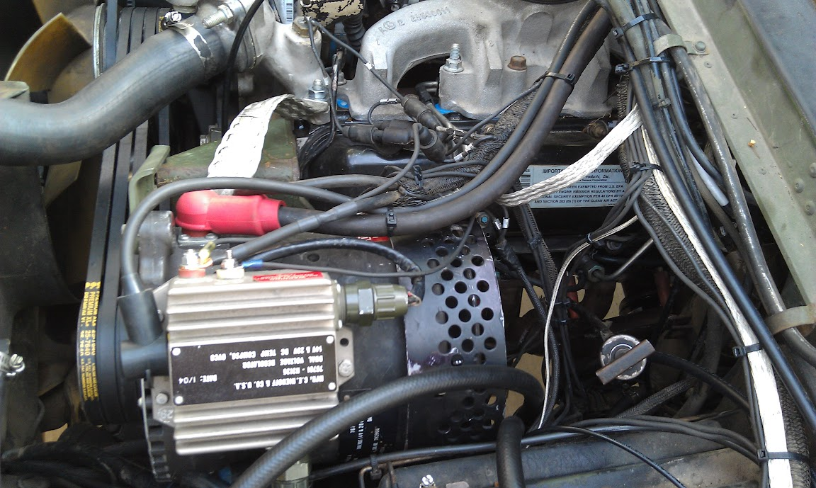 Converting A Hmmwv To 12 24v G503 Military Vehicle Message Forums Boat Dual Battery Wiring Diagram Alternator