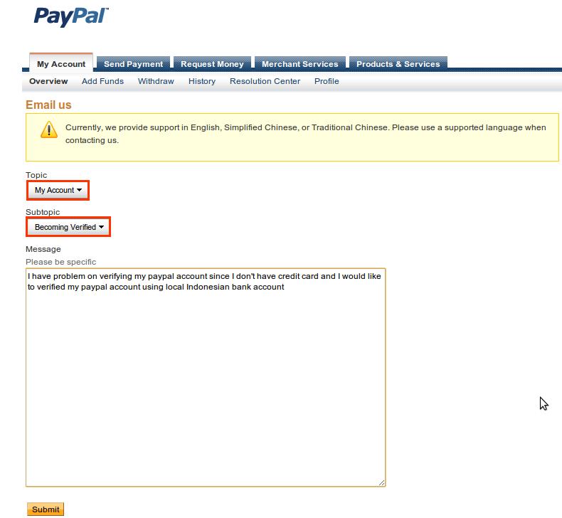 Verifikasi Paypal Menggunakan Bank Lokal 5