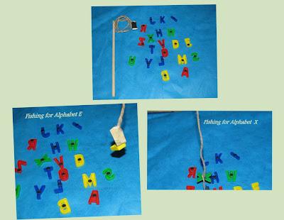 Magnetic Alphabets Fishing
