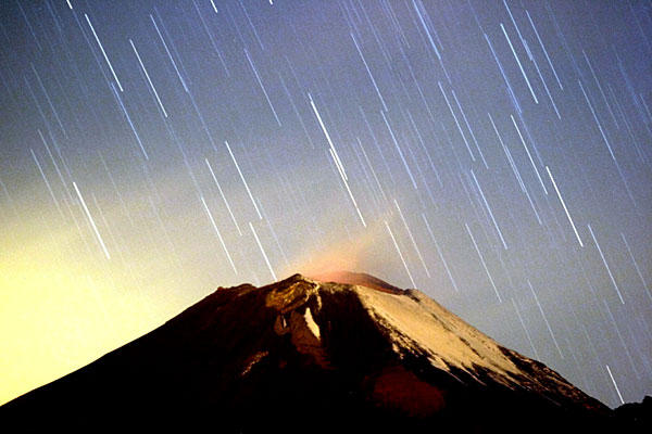 Meteor Shower of 2012 Shooting Stars