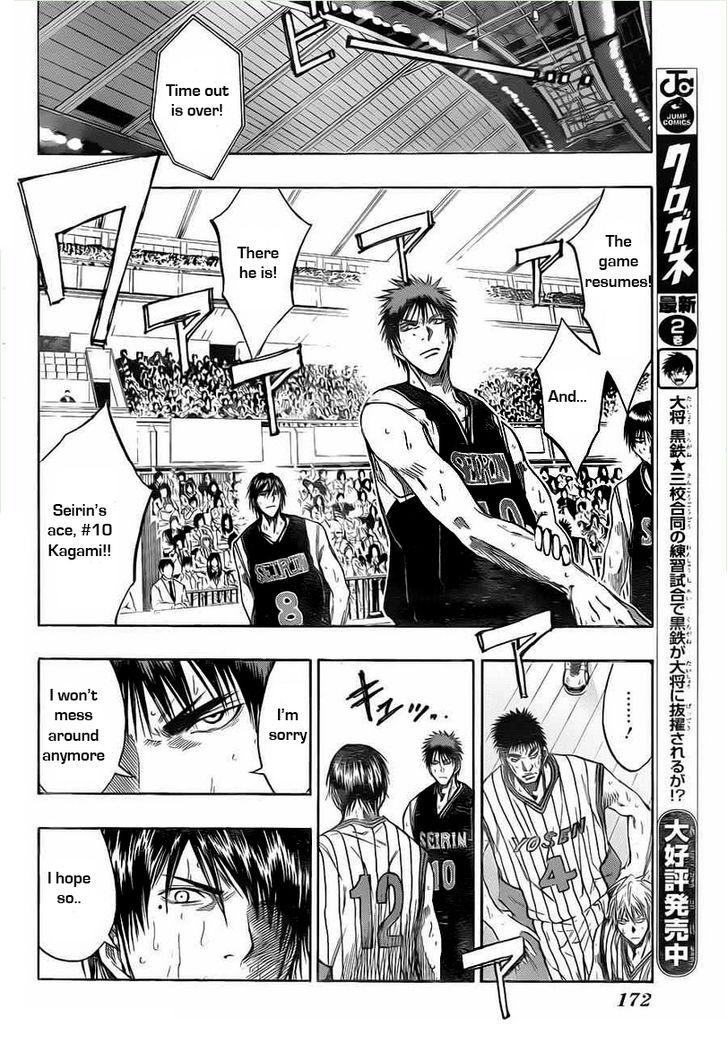 Kuroko no Basket Manga Chapter 153 - Image 10