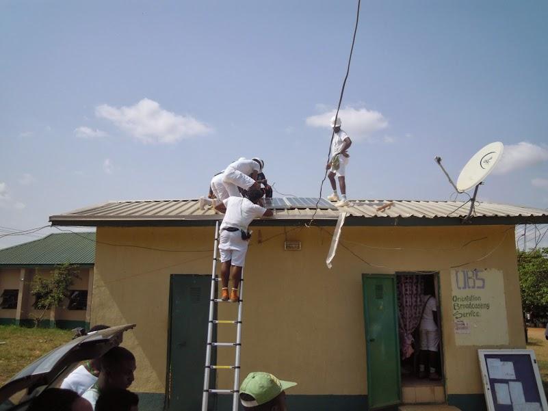 Installation of 4 KVA solar inverter