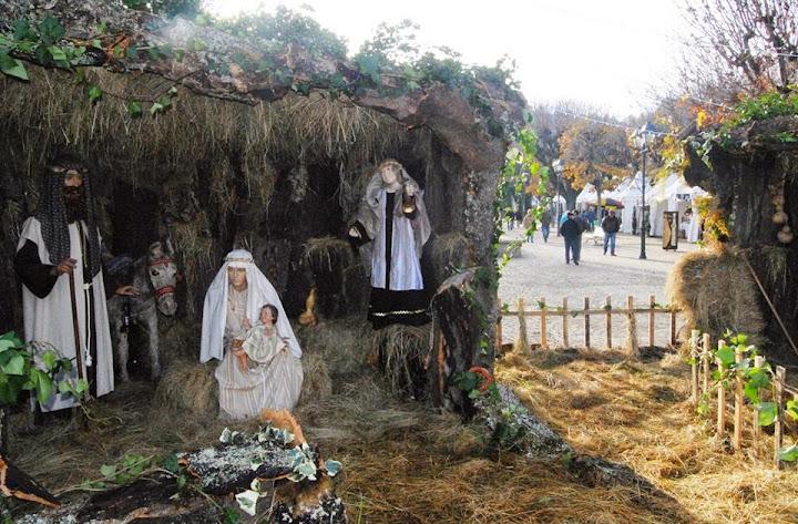 Presépio de grandes dimensões espalha espírito de Natal