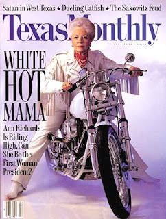 Governor Ann Richards Texas Monthly Magazine