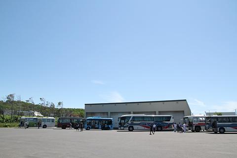 沿岸バス「創業60周年記念イベント」全景 その2