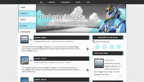 template blogger plantilla: