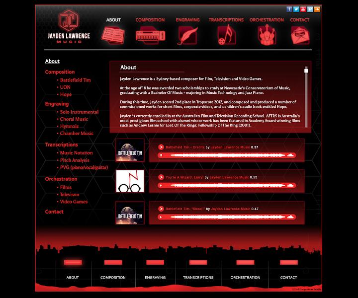 HTML5 CSS3 Portfolio Web Site