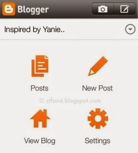 blogger for iphone
