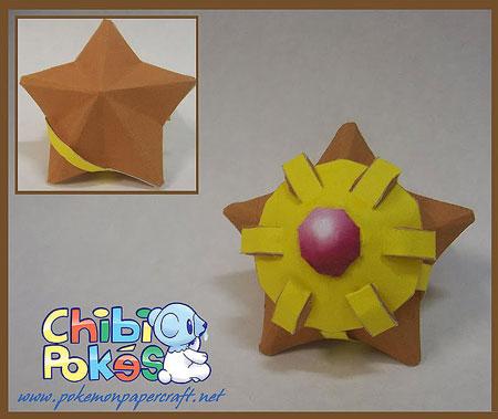 Chibi Staryu Papercraft