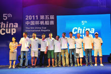 China Cup- winners of J/80 one-design sailboat team