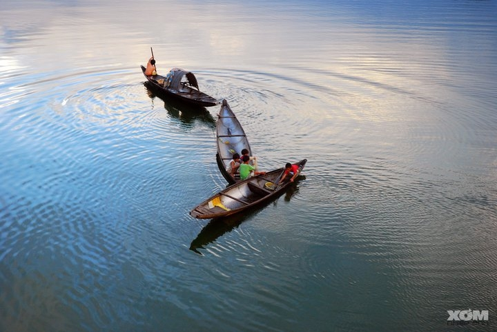 Life on the river - Vietnam