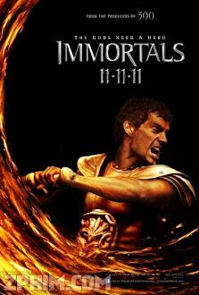 Chiến Binh Bất Tử - Immortals (2011) Poster