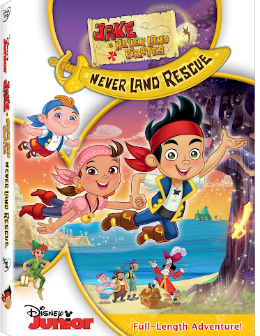 Entertainment Roundup: Jake and the Never Land Pirates: Never Land Rescue DVD