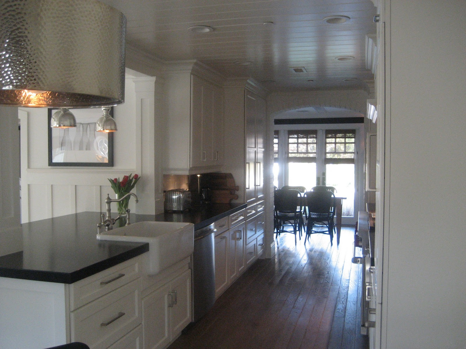 The Pendant Lamp Over Kitchen Table Is From Barbara Cosgrove And Pendants Counter Are Jamie Young So Reasonably D Just