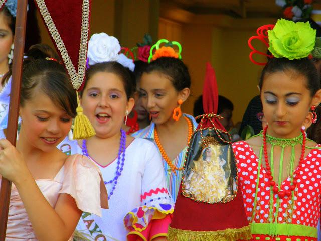 Cruces chicas de rociana 2011